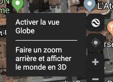 Activer la vue 3D sur Google Maps